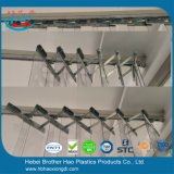 Комплекты монтажного оборудования занавеса PVC аккордеони сильные гибкие