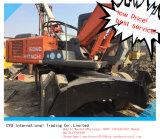 Alta qualidade de segunda mão usada da máquina escavadora da máquina escavadora de Hitachi Ex160wd-1 Whheeled