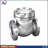 Válvula de verificación de acero de oscilación 300lbs del API 6D Casted de la fábrica