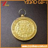 El oro de la galjanoplastia contorneó el regalo de la colección de Meda / Medallion (YB-HR-46)