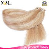 Da pele brasileira da extensão do cabelo humano do cabelo fita de trama de tecelagem