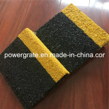 Cubierta de la pisada de escalera de la fibra de vidrio de FRP con la arena