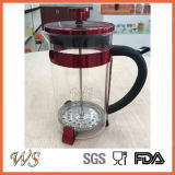 Wschxx044 de Nieuwe wijn-Purpere Franse Pers van de Koffie van het Koffiezetapparaat van het Roestvrij staal van de Pers Franse