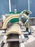 Überseeservice nach Pfosten-Schlitz-Stein Cut& Ausschnitt-Maschinen-Prozess-Maschine des Verkaufs-römischer Pfosten-Schlitz-Stein-Machine/2017 neuer automatischer römischer