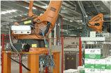 Newamstar automatisches Sojabohnenöl durchbrennenfüllende mit einer Kappe bedeckende Combiblock Verpacken-Maschinerie