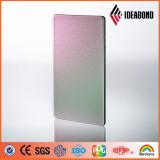 IdeabondのPE PVDFのコーティングスペクトルの終わりのアルミニウム合成の正面のパネル
