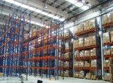 Cremalheira muito estreita resistente da pálete do corredor para o armazenamento das indústrias