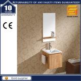 Шкаф тщеты ванной комнаты санитарного меламина изделий деревянный с ногами