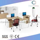 Projekt-Entwurf L Form-hölzerner Möbel-Büro-Arbeitsplatz