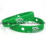 Wristband 2017 do silicone da bandeira de país do preço de fábrica