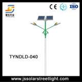 Solarstraßenlaterneder doppelten Arm-30W*2 mit LED-Lichtquelle