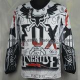 Motocross di corsa Jersey (MAT19) della maglietta del motore di sublimazione di usura della corsa del motociclo