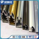 Profil en aluminium d'Electrophresis de couleur d'or d'usine d'OIN pour la construction