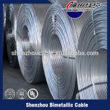 fio folheado de cobre do CCA do alumínio de 10A 15A 20A