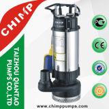 2.0 Pompe de Sumbersible d'eaux d'égout de câblage cuivre de la HP V1500