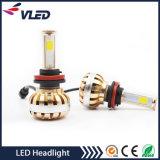 Lampe principale automatique grande du pouvoir 3600lm H8 H9 H11 DEL de phare du moteur DEL