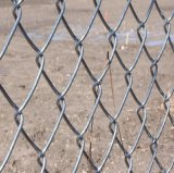 Heißer Verkauf Galvanzied Eisen-Maschendraht-Kettenlink-Zaun mit Qualität