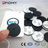 Tag simbólico impermeável que pode escrever-se de NFC com para gerência da patrulha