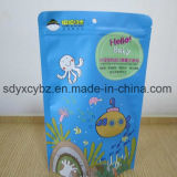 El alimento modificado para requisitos particulares de 100g 200g se levanta la bolsa de plástico Ziplock