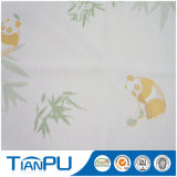 Panda-Muster-Bambusfaser-Jacquardwebstuhl-Gewebe-Gewebe