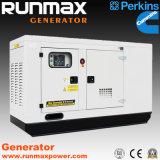 8kVA ~ 2000kVA Reino Unido Generador diesel silencioso de la energía de Perkins (RM80P2)