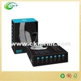 Impresión de encargo de la caja de embalaje del auricular del surtidor de China (CKT-CB-259)