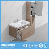 Alta Quanity Unidad Cuarto de baño moderno con el caballo de metal del cajón (BF322D)