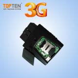 Preiswertes 3G/4G OBD Fahrzeug-Gleichlauf-System mit Spuren-Optimierung (TK208-KW)
