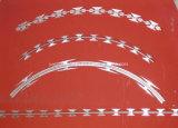 Колючая проволока бритвы двойной обеспеченностью петли Concertina