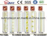 Прессформа кроны PU высокого качества полиуретана золота красивейшая дешевая декоративная