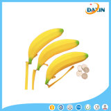 Venda Por Atacado Banana Silicone Purse Custom Silicone Coin Wallet