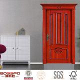 ヨーロッパデザインカスタムドアによって切り分けられるパネルの木製のドア(GSP2-047)