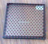 Vetro stampato matrice per serigrafia con il PUNTINO del reticolo, riga, quadrato, diamante