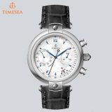 Reloj de múltiples funciones de calidad superior del cronógrafo del reloj de Mens con la ventana 72372 del calendario