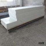 12mm 빙하 백색 인공적인 돌 아크릴 단단한 지상 벽면 (V160808)