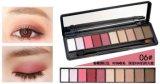 Alta calidad sombra de ojo Ninguno-Floreciente del OEM de la gama de colores de 10 colores