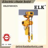 gru elettrica di doppia caduta Chain 1ton con il carrello