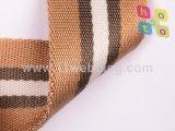 Torcendo o Webbing de nylon colorido para acessórios dos sacos