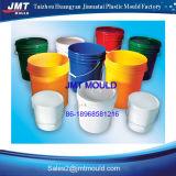Molde plástico do balde com punho
