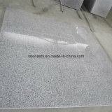 China Polished G603, Sesame White, Bianco Crystal Grey Granite Tile for Floor / Wall / Steps