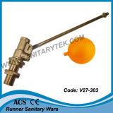 Valvola a sfera d'ottone del galleggiante (V27-310)