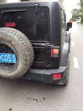 J242 Scharnieren van de Deur van de Laadklep van het Aluminium van Lantsun de Zwarte voor Jeep Wrangler Jk 07+