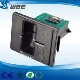 수동 삽입 IC 칩 카드 판독기 자기 카드 독자 또는 작가