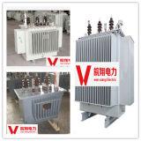 Transformateur d'alimentation électrique/transformateur immergé dans l'huile/transformateur triphasé