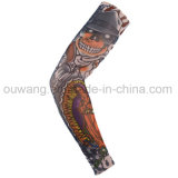 Protection personnalisée Nylon Sports Imprimé Tattoo Arm Cool Sleeves