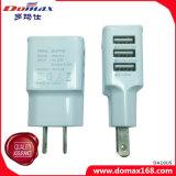 Adaptador do carregador do curso do telefone móvel do carregador do USB multi