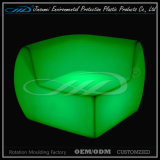 PE material LED plástico barra muebles conjunto