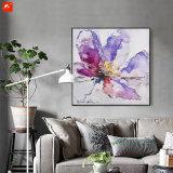 L'acquerello fiorisce la pittura a olio decorativa con il blocco per grafici