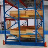 Ladeplatten-Schwerkraft-Zahnstange für Phasenspeicherung
