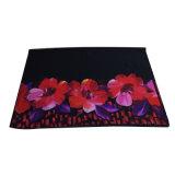 赤い女性のためのポリエステルシフォンによって印刷されるスカーフ
